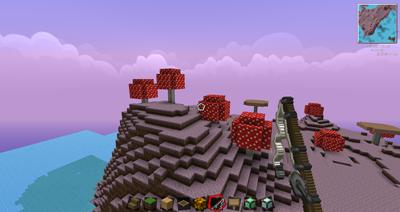 我的世界手机版去蘑菇岛攻略